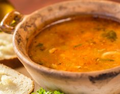 Σούπα με μπακαλιάρο και ντομάτα  - Images