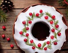 Αγγλικό Χριστουγεννιάτικο κέικ  - Images