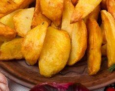 Πατάτες κυδωνάτες στο φούρνο  - Images
