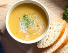 Σούπα καλαμποκιού με κουρκουμά και τζίντζερ - Images