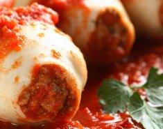 Καλαμαράκια γεμιστά με κόκκινη σάλτσα - Images