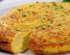 Ισπανική ομελέτα (Tortilla de patatas) - Images