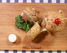 Τραγανό Σάντουιτς με ψάρι Blue Island - Images
