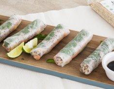 Βιετναμέζικα spring rolls με κινόα - Images