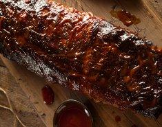 Χοιρινά ribs με σάλτσα μπάρμπεκιου - Images